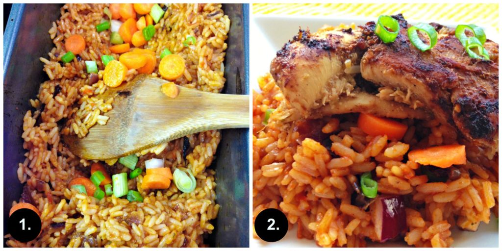 Homemade (Oven Baked) Jollof Rice